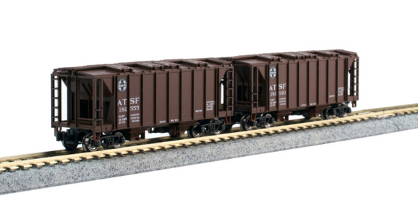 Kato 1064700 2-Bay Covered Hoppers ACF 8-Car Set N Scale
