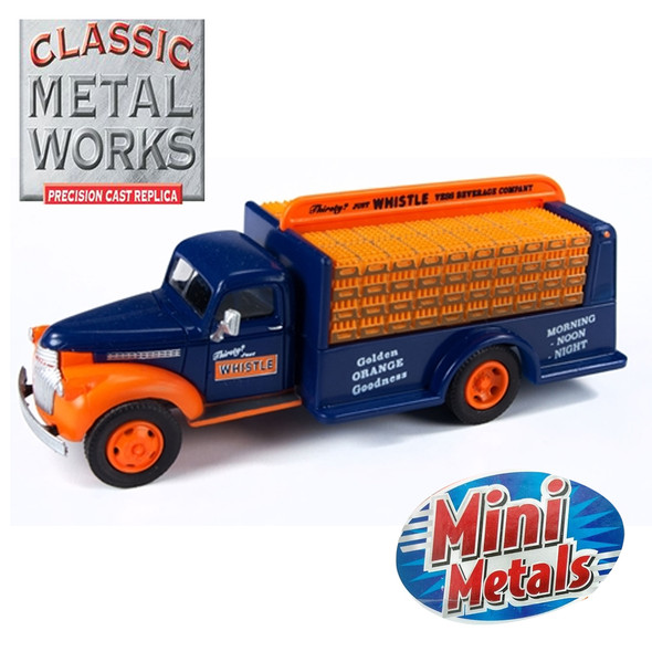 Classic Metal Works 30564 1941-1946 Chevy Bottle Truck Whistle 1:87 HO Scale