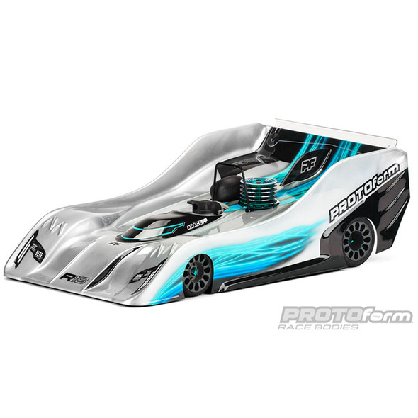 Protoform 1556-25 PRO-Lite R19 Clear Body : 1:8 On Road