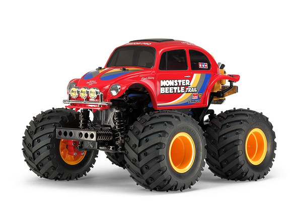 Tamiya 58672 1/14 Monster Beetle Trail GF-01T 4WD Off-Road Car Assembly Kit