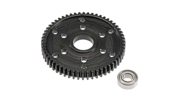 Robinson Racing 1549 Steel 56T Stock Repl 32P Gear Black : SCX10 / SMT10