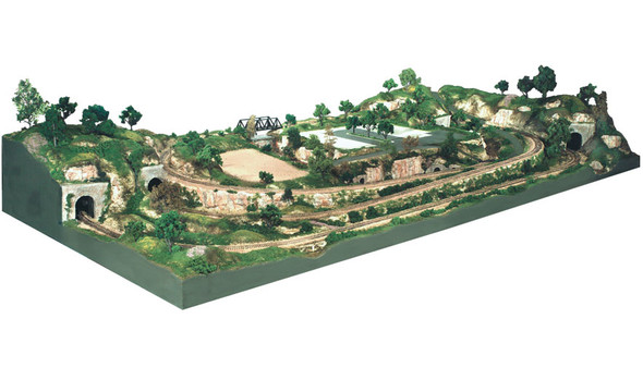 Woodland Scenics River Pass Scenery Kit #2 S1488