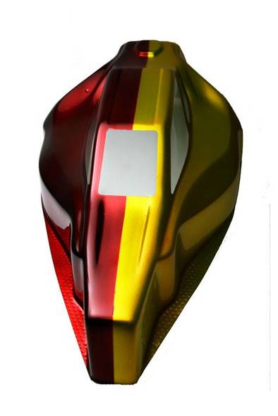Spaz Stix Candy Yellow Airbrush Ready Paint 2oz Bottle