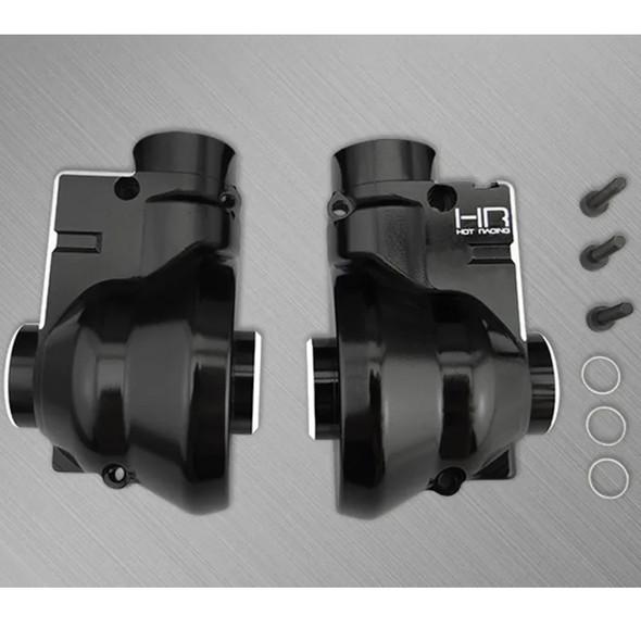 Hot Racing NRO1201 Alum Front or Rear Diff Gearbox Case : 1/8 BLX Nero / Fazon