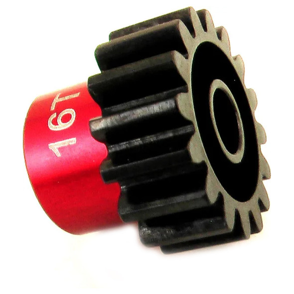 Hot Racing NSG416 16T Steel 24P Pinion Gear 5mm