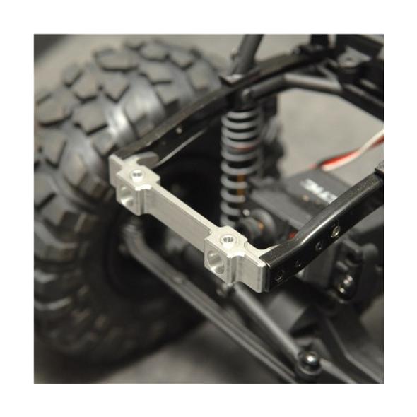 STRC STA80046FGM Aluminum Front Bumper Mount Gun Metal : SCX10 Honcho