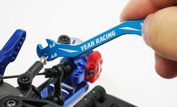 Yeah Racing YT-0197BU Aluminum 7075 Turnbuckle Wrench Blue 3 /4 /5 /5.5mm