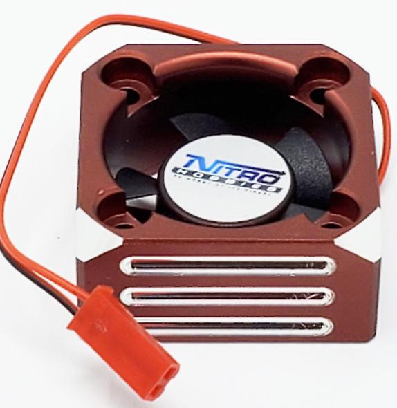 Nitro Hobbies Aluminum Case 30mm Cyclone 28000 RPM Cooling Turbo Fan Copper