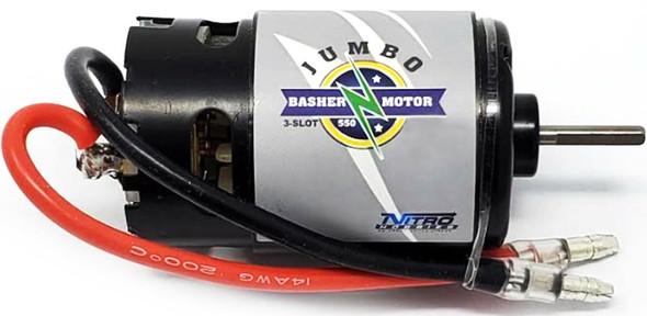 Nitro Hobbies Jumbo Basher 3-Slot 550 / 21T Reverse Rotation Brushed Motor