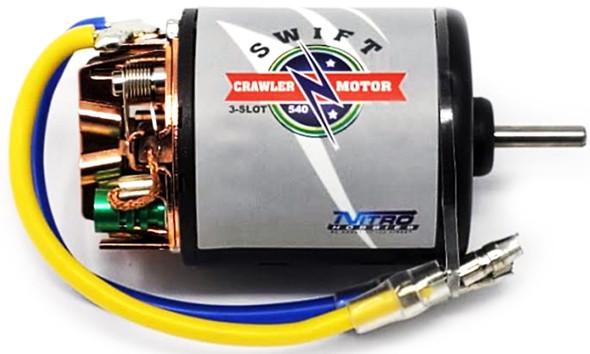 Nitro Hobbies Swift Crawler 3-Slot 540 27T Motor