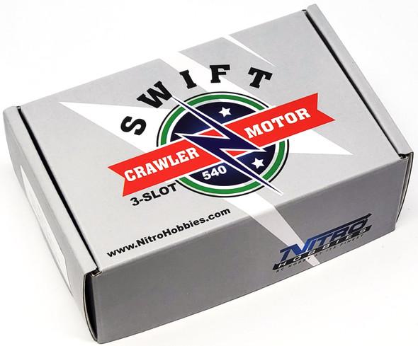 Nitro Hobbies Swift Crawler 3-Slot 540 30T Motor