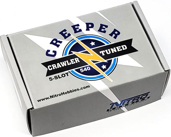 Nitro Hobbies Creeper Crawler Tuned 5-Slot 540 / 13T Brushed Motor