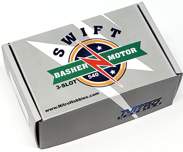Nitro Hobbies Swift Basher 3-Slot 540 23T Motor