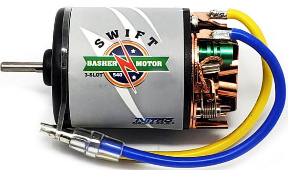 Nitro Hobbies Swift Basher 3-Slot 540 21T Motor