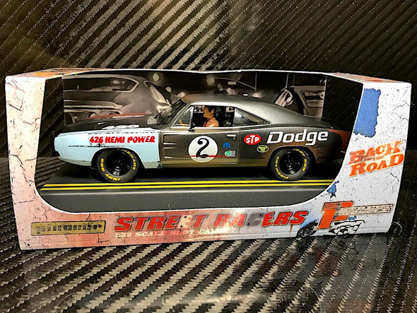 Pioneer Dodge HEMI Charger Road Warrior Slot Car 1/32 LIMITED ED HAND PAINTED