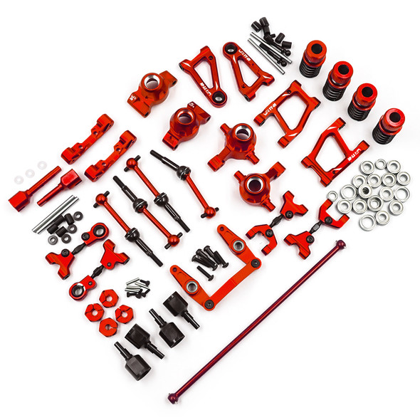 Yeah Racing TATT-S05RD Rapid Performance Conversion Kit Red : Tamiya TT-01 / TT-01E