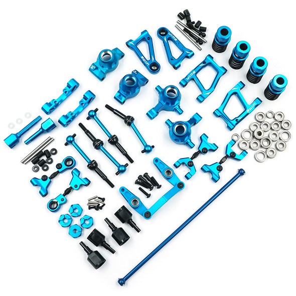 Yeah Racing TATT-S05BU Rapid Performance Conversion Kit Blue : Tamiya TT-01 / TT-01E