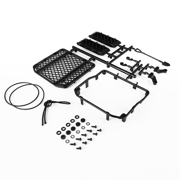Gmade GM40080 1/10 Scale Off-Road Roof Rack & Accessories : Komodo