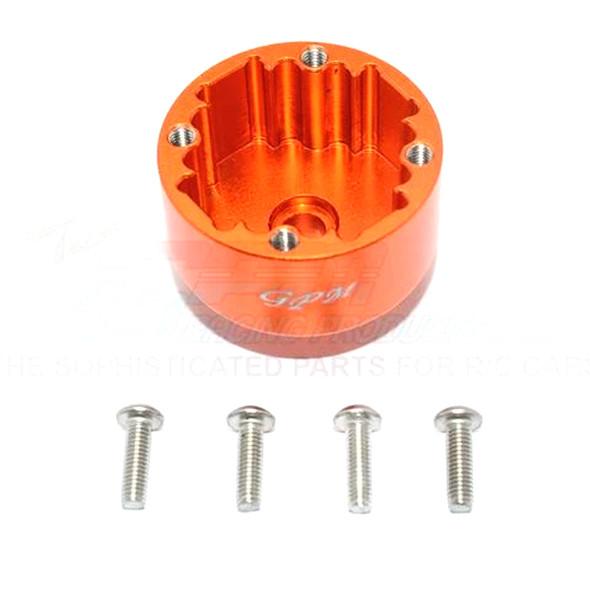 GPM Racing Front/Rear Diff Case Orange : Kraton / Senton / Typhon / Talion / Outcast