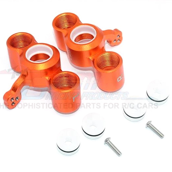 GPM Alum Front Knuckle Arms (8Pcs) Orange : Senton / Typhon / Talion / Infraction / Limitless