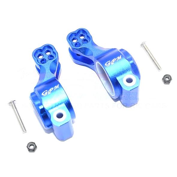 GPM Aluminum Rear Knuckle Arm (6Pcs) Blue : SENTON / TALION / INFRACTION / LIMITLESS