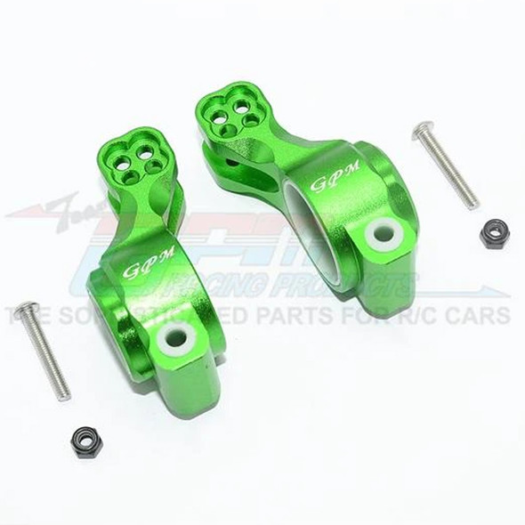 GPM Aluminum Rear Knuckle Arm (6Pcs) Green : SENTON / TALION / INFRACTION / LIMITLESS
