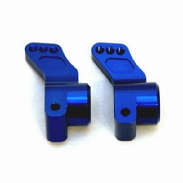 STRC STC9584B Aluminum Rear Hub Carriers 0 Deg. (1 Pair) Blue : SC10 / B4 / T4
