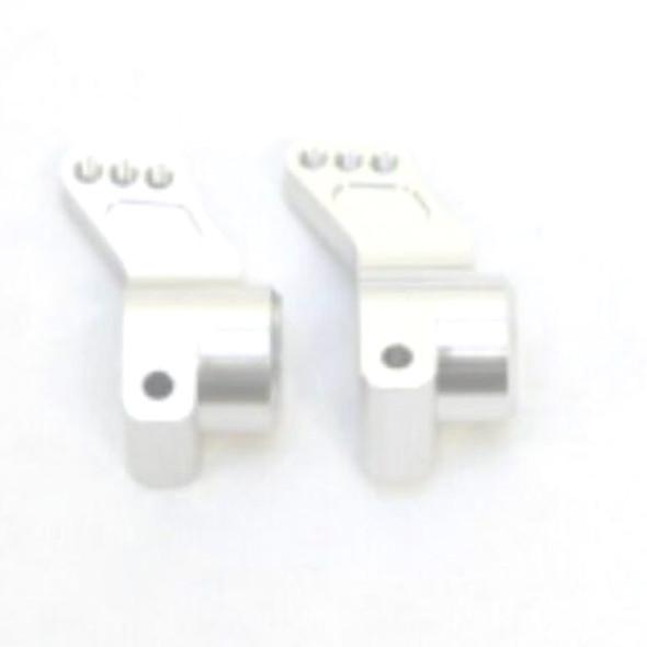 STRC STC9584S Aluminum Rear Hub Carriers 0 Deg. (1 Pair) Silver : SC10 / B4 / T4