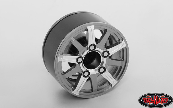 "RC4WD Z-W0206 VAPOR 1.55"" Aluminum BEADLOCK WHEELS ( 4 )"