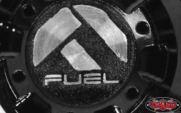 """RC4WD Fuel Offroad Battle Axe 2.2"""" Beadlock Wheels (4) Z-W0253"""