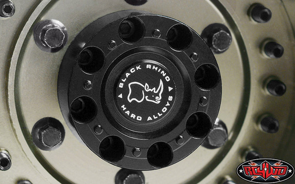 "RC4WD Z-W0293 Black Rhino Armory Internal Beadlock Deep Dish 1.9"" Wheels (4)"