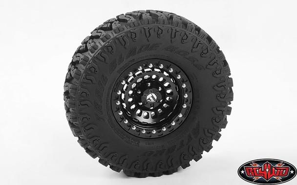 "RC4WD Z-W0294 Fuel Zephyr Beadlock Wheels 1.9"""