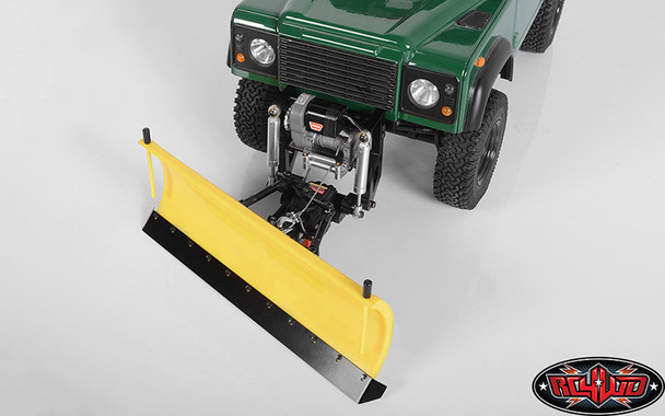 RC4WD Super Duty Blade Snow Plow Yellow Z-X0043 : Gelande II