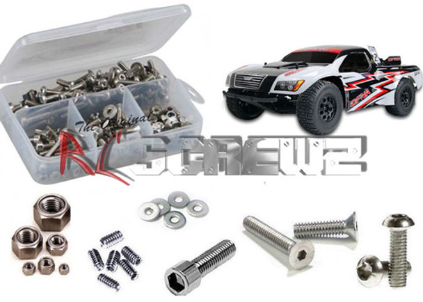 RC Screwz Stainless Steel Screw Kit TS2 Pro Shortcourse OFN066