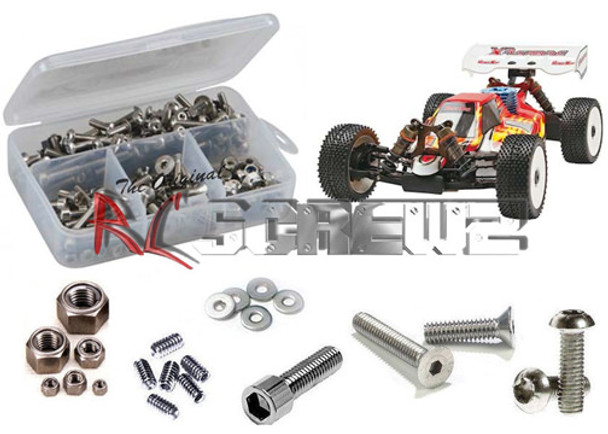 RC Screwz Stainless Steel Screw Kit X3 Sabre RTR/PRO 1/8 OFN007