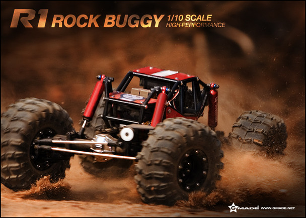 Gmade R1 Rock Crawler Buggy Kit 1/10 Electric 4WD GM51000