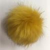 Faux Fox Fur Pom-Poms