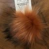 Mini Faux Raccoon Fur Pom-Poms