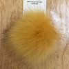 Mini Faux Fox Fur Pom-Poms
