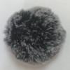 Faux Frosted Rabbit Fur Pom-Poms