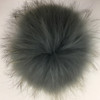 Real Raccoon Fur Pom-Poms