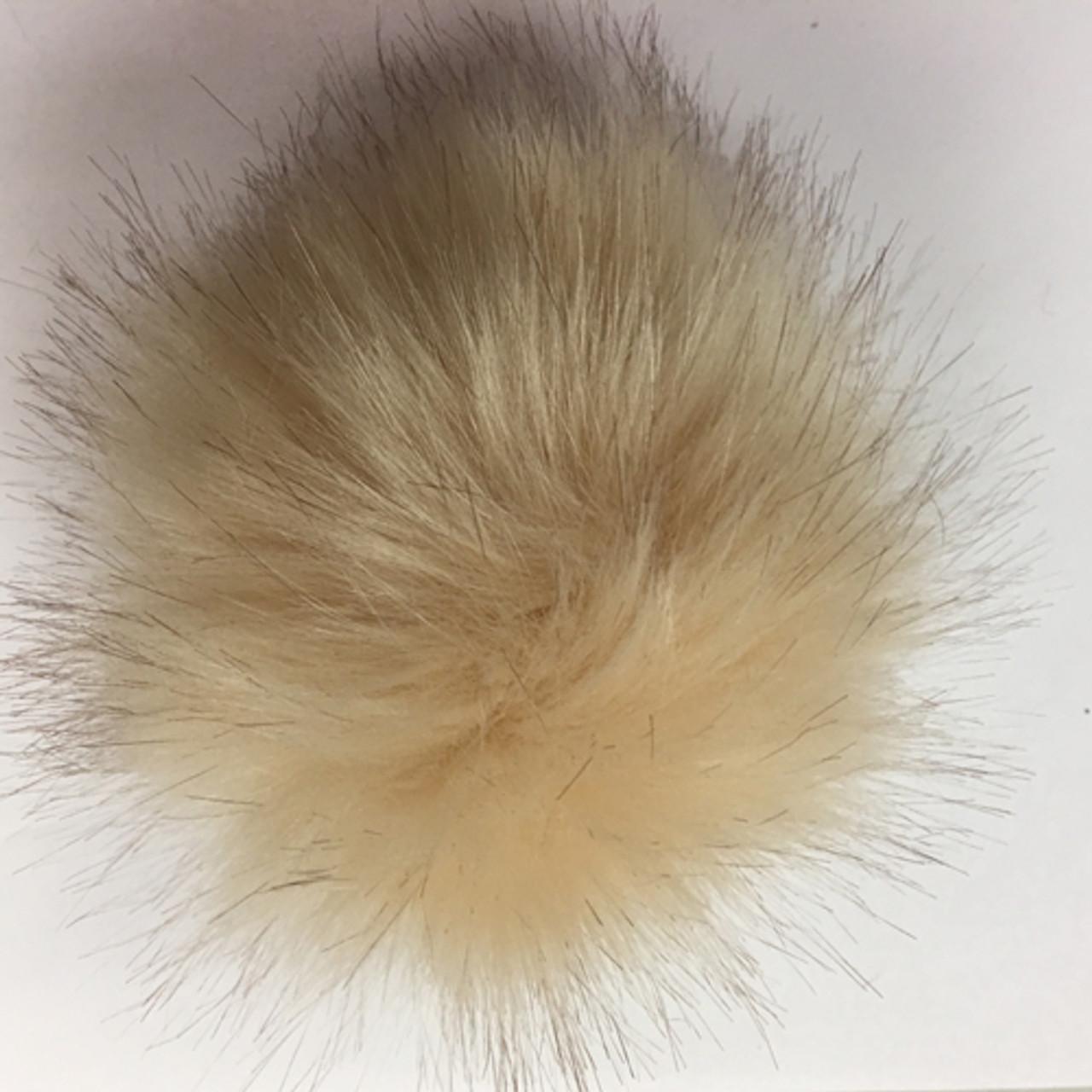 - Closeout Wild Cat Faux Fur Pom Poms