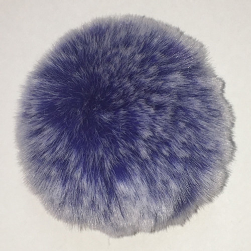 Faux Frosted Rabbit Fur Pom-Poms