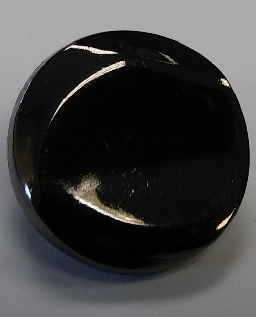 999041 20mm Round Metal  Silver w/ Shank