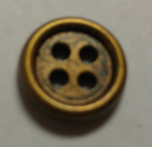 555055 Round Acrylic 4 Hole Bronze 10mm