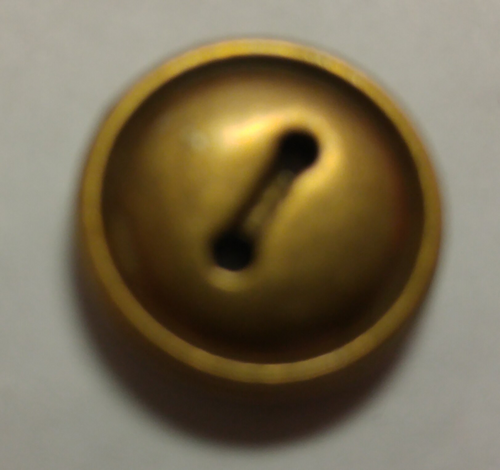 555060 Acrylic Round 2 Hole Bronze (13mm)