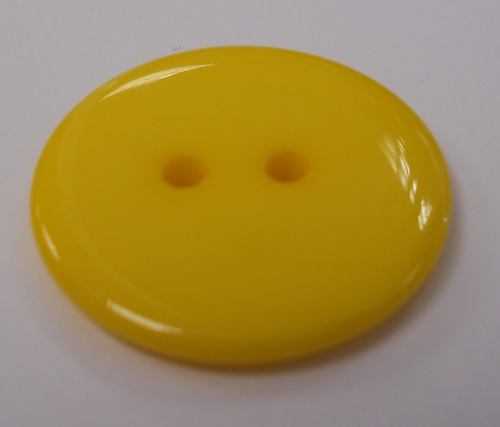 555022 Pastic Round Yellow (23mm )