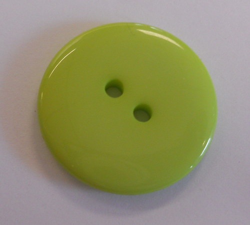 555024 Plastic Round Green (23mm)