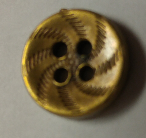 555063 Acrylic Round 4 Hole Bronze (13mm)