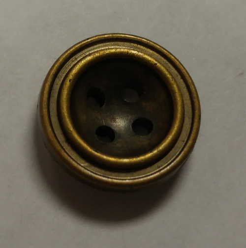 555064 Acrylic Round 4 Hole Bronze (13mm)
